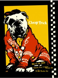 Cheap Trick Season 36 by Billy Perkins