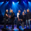 Steve Earle, Rodney Crowell, Joe Ely, Jo Harvey Allen and Terry Allen on Austin City Limits © KLRU photo by Scott Newton