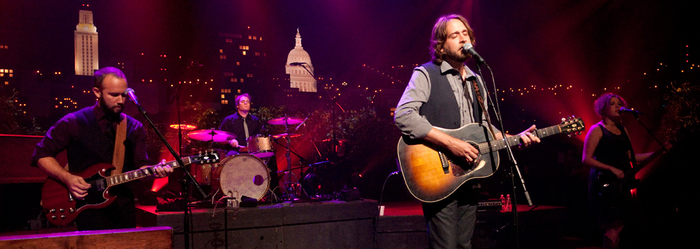 Hayes Carll © KLRU photo by Scott Newton