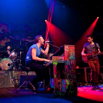 Coldplay © KLRU photo by Scott Newton