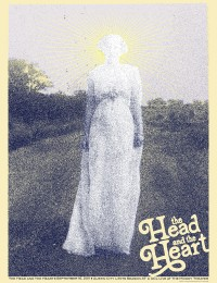 The Head and the Heart Poster by Billy Bishop