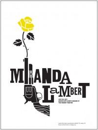 Miranda Lambert Season 37 by Dirk Fowler