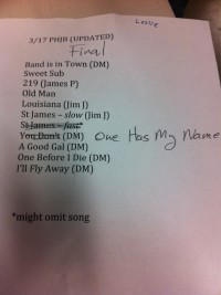 Preservation Hall Jazz Band Setlist