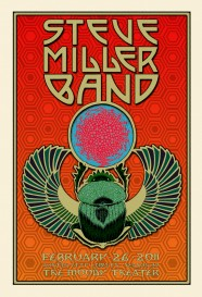 The Steve Miller Band Poster Season 37 by Chuck Sperry