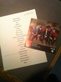 Wilco Setlist