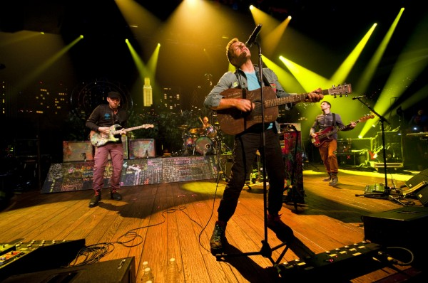 Coldplay performs on Austin City Limits