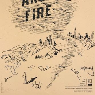 Arcade Fire Signatures