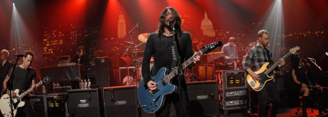 Foo Fighters © KLRU photo by Scott Newton