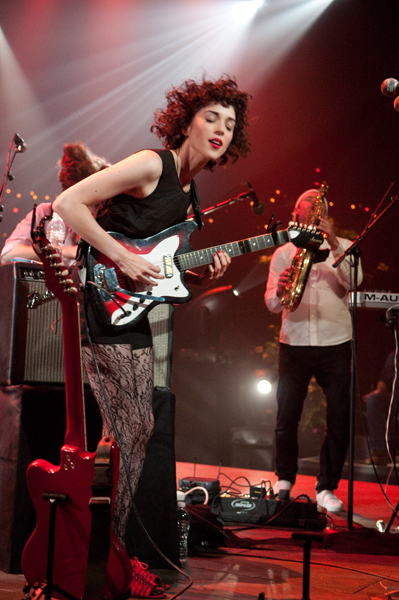 St. Vincent lights up her second ACL taping | Austin City