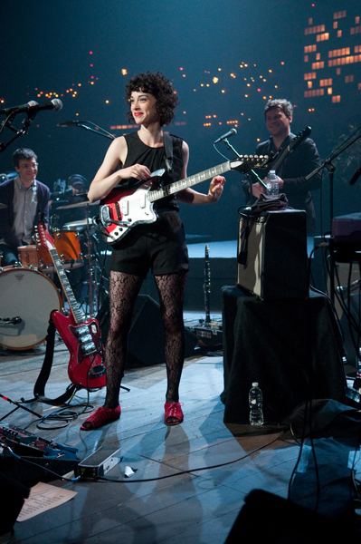 Annie Clark of St. Vincent performs on day 2 of Austin