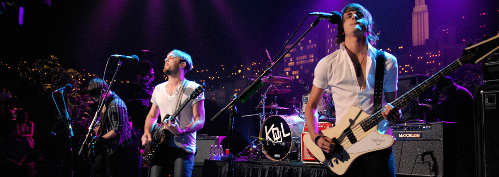 Kings of Leon © KLRU photo by Scott Newton