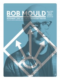 Bob Mould poster by Mark Pedini of Empire Press