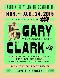 Gary Clark Jr. Poster by Erica Stivison of Arts Recreation