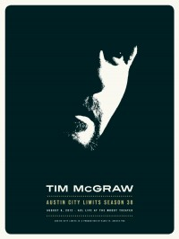 Tim McGraw poster by Glenn Sweitzer