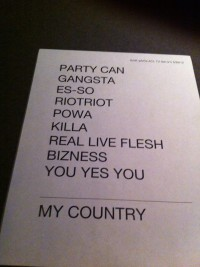 tUnE-yArDs taping setlist