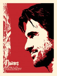 Juanes ACL Poster by Billy Perkins