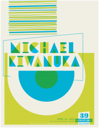 Michael Kiwanuka ACL Poster by Erick Montes