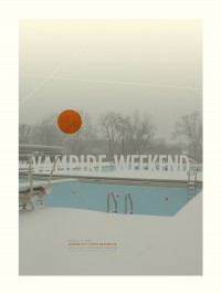 Vampire Weekend by Delicious Design League