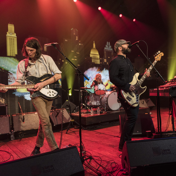The Black Angels on Austin City Limits ©️KLRU photo by Scott Newton