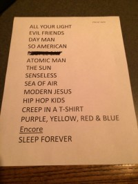 Portugal. The Man set list