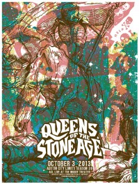 Queens of the Stone Age by By Mark Pedini and Jared Connor