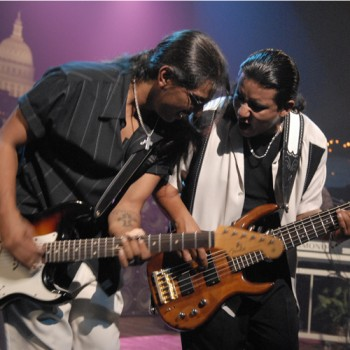 Los Lonely Boys © KLRU photo by Scott Newton