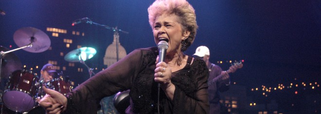 Etta James ©KLRU photo by Scott Newton