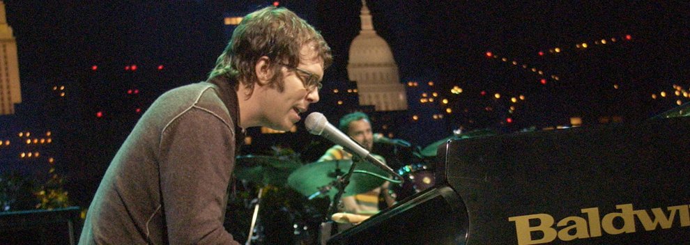 Ben Folds ©KLRU photo by Scott Newton