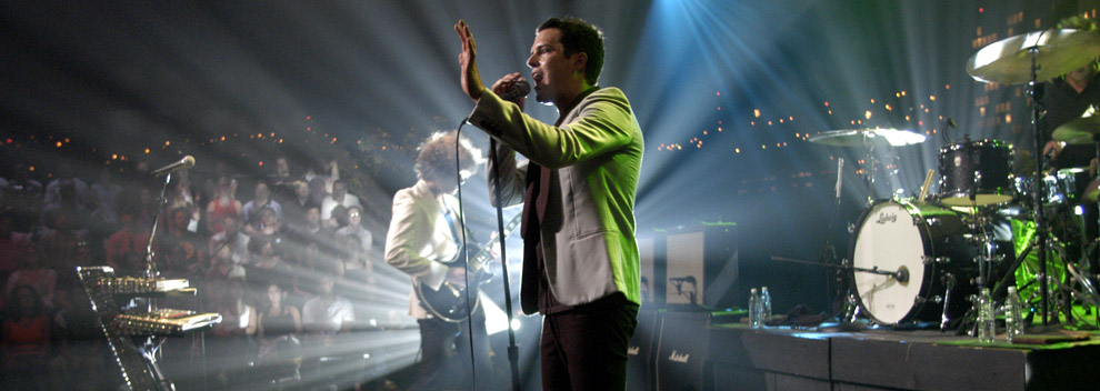 The Killers ©KLRU photo by Scott Newton
