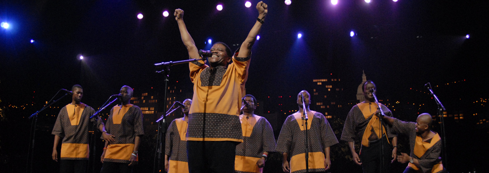 Ladysmith Black Mambazo © KLRU photo by Scott Newton