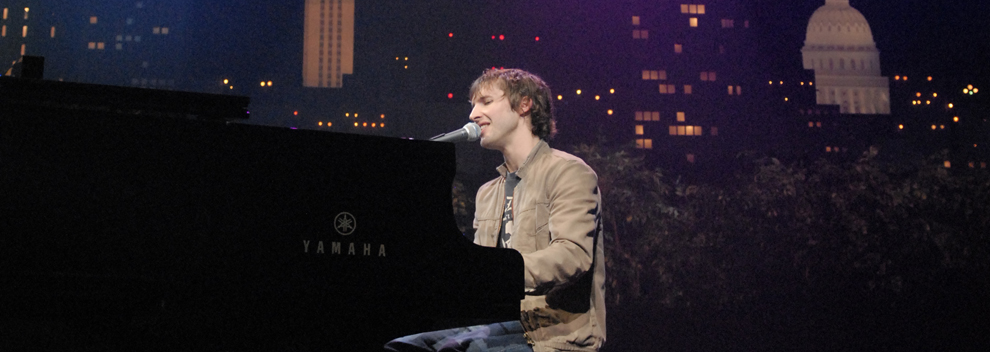 James Blunt © KLRU photo by Scott Newton