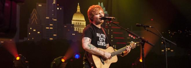 Ed Sheeran ©KLRU photo by Scott Newton