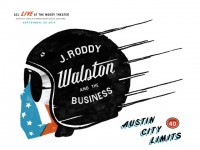 J. Roddy Walston & The Business poster by Clint Breslin