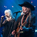 Emmylou Harris & Willie Nelson | ACL Hall of Fame 2014 ©KLRU photo by Scott Newton