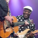 Willie Nelson & Buddy Guy | ACL Hall of Fame 2014 ©KLRU photo by Scott Newton