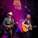 Gillian Welch with David Rawlings | 2015 ACL Hall of Fame ©KLRU photo by Scott Newton
