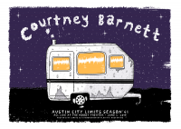 Courtney Barnett poster by Wolfmask