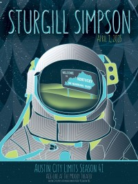 Sturgill Simpson poster by Evan Bartholomew