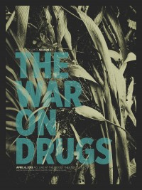 The War on Drugs poster by Rich Knepperath