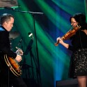 Jason Isbell and Amanda Shires. (Photo by Rick Diamond/Getty Images for Americana Music)