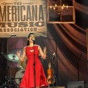 Rhiannon Giddens. (Photo by Rick Diamond/Getty Images for Americana Music)