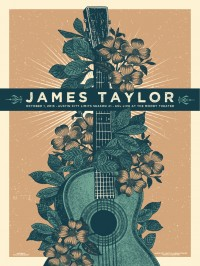 James Taylor poster by Justin Helton