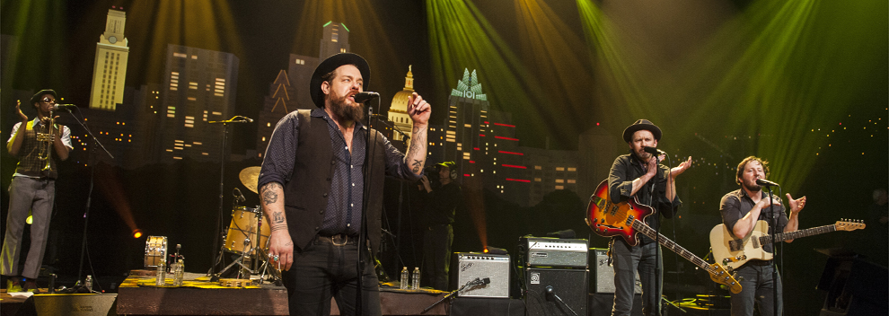 Nathaniel Rateliff & The Night Sweats ©KLRU photo by Scott Newton