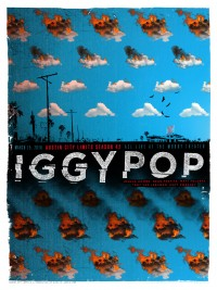 Iggy Pop poster by Jon Smith