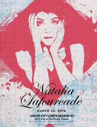 Natalia Lafourcade by Industry Printshop