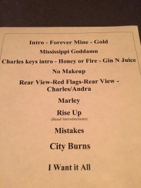 Andra Day Taping Setlist