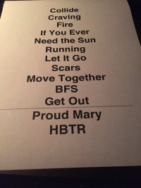 James Bay Taping Setlist