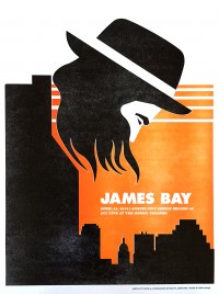 James Bay poster by Dirk Fowler
