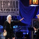 Emmylou Harris & Rodney Crowell. Americana Honors & Awards 2016. Photo by Terry Wyatt/Getty Images for Americana Music.