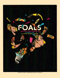 Foals by Andrew Vastagh aka Boss Construction